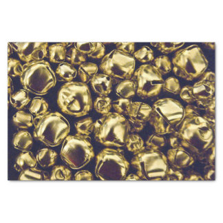 Jingle All the Way Gold Tissue Paper