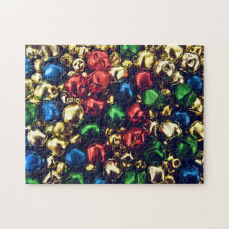 Jingle All the Way Multi-Color Bells Large Puzzle