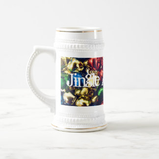 Jingle All the Way Multi-Color Bells Stein Mugs