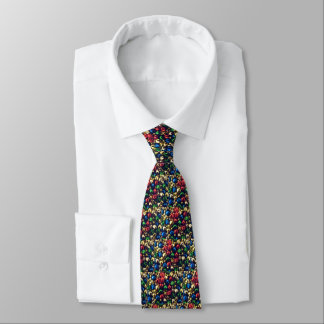 Jingle All the Way Multi-Color Bells Tie