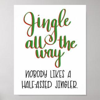 Jingle all the way print