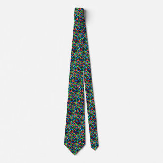 Jingle All the Way Red, Green, & Blue  Jingle Bell Neck Tie