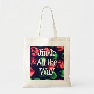 Jingle All the Way Red & Green CTC L.I.F.E. Bag