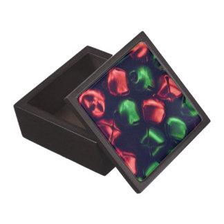 "Jingle All the Way Red/Green Premium 3"" Gift Box"