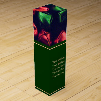 Jingle All the Way Red & Green Wine Gift Box