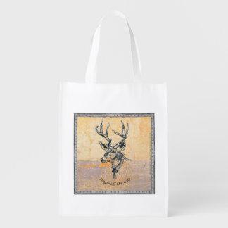Jingle all the way -  Xmas reusable bags