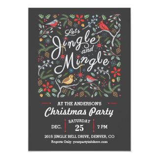 Jingle and Mingle Christmas Party Invitation II