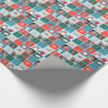 Jingle and Mingle Holiday Photo Giftwrap Wrapping Paper