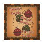 Jingle Bell Christmas Holiday Canvas Canvas Print