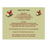 Jingle Bell Fudge Postcard