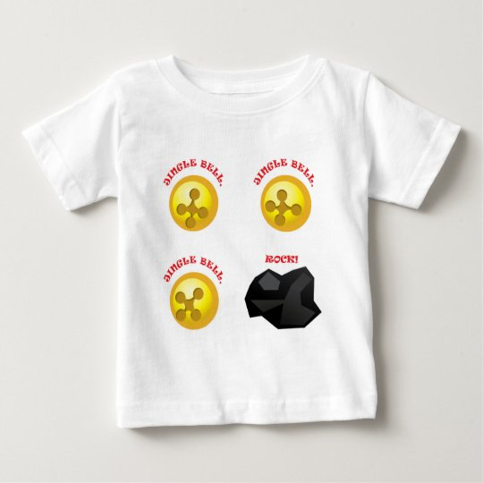 Jingle Bell, Jingle Bell, Jingle Bell, Rock! Baby T-Shirt
