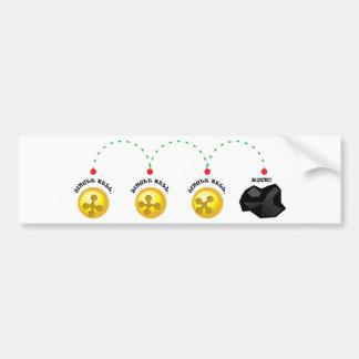 Jingle Bell, Jingle Bell, Jingle Bell, Rock! Bumper Sticker