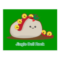 Jingle Bell Rock Postcard