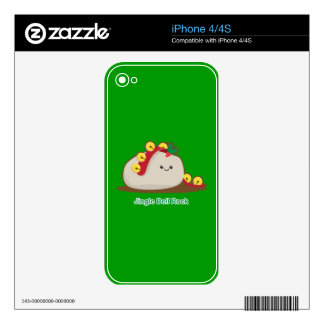 Jingle Bell Rock Decals For iPhone 4