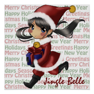 Jingle Belle Merry Poster