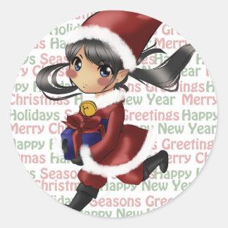 Jingle Belle Merry Sticker