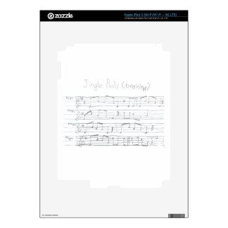 Jingle Bells Beginning Decals For iPad 3
