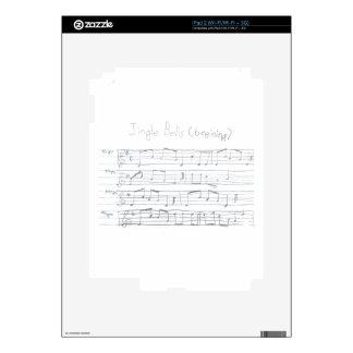 Jingle Bells Beginning Decal For The iPad 2