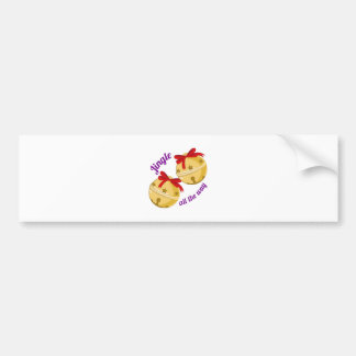 Jingle Bells Bumper Stickers