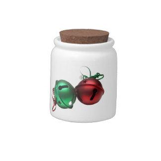 Jingle Bells Candy Jars