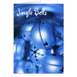 Jingle Bells Christmas Greeting Card