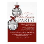 Jingle Bells Christmas Party Custom Invitations