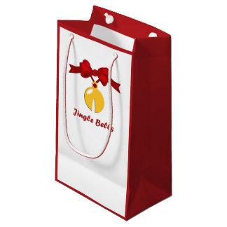 Jingle Bells Christmas Sleigh Bell SGB Small Gift Bag