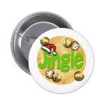 Jingle Bells - jingles Pinback Buttons