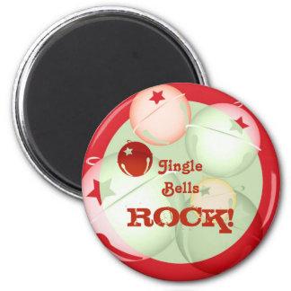 Jingle Bells Fridge Magnet