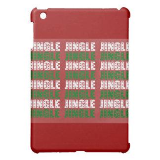 Jingle Bells, Merry Christmas, Happy Holidays Red iPad Mini Case