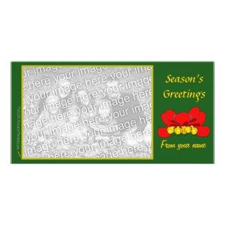 Jingle Bells Photo Card Template