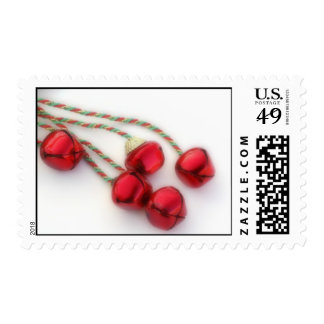 jingle bells postage stamp