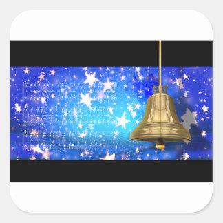 Jingle Bells Square Sticker