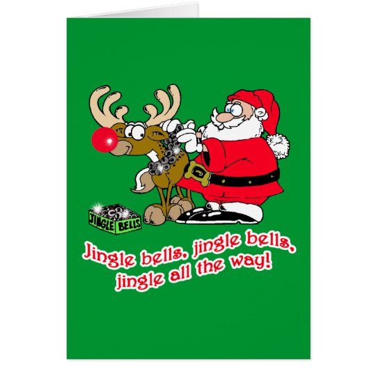 Jingle Bells T-shirts, Cards, Gifts Card
