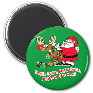 Jingle Bells T-shirts, Cards, Gifts Refrigerator Magnets