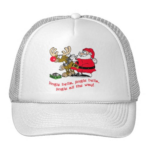 Jingle Bells T-shirts, Cards, Gifts Trucker Hat