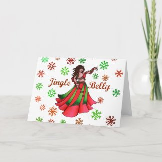 Jingle Belly Holiday Card