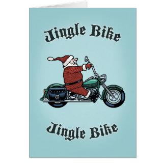 Jingle Bike Card