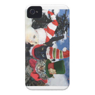 Jingle Cat Collection iPhone 4 Cover