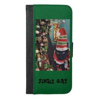 Jingle Cat Collection iPhone 6/6s Plus Wallet Case