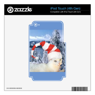 Jingle Cat Collection Skins For iPod Touch 4G