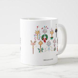 JINGLE CATS Christmas Coffee Mug