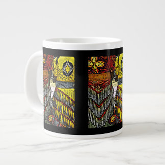 Jingle Dancers Ready Large Coffee Mug