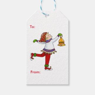 Jingle Elves (Swishy) Gift Tags