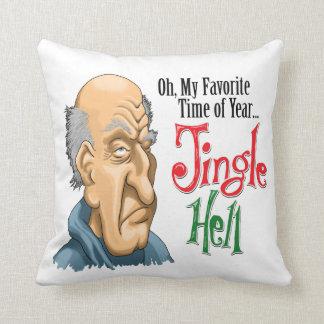 Jingle Hell Curmudgeon Pillow