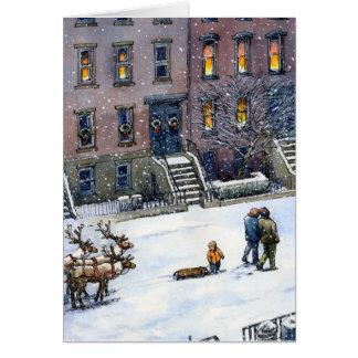 """""""Jingle-Jangle"""" Christmas Card"""