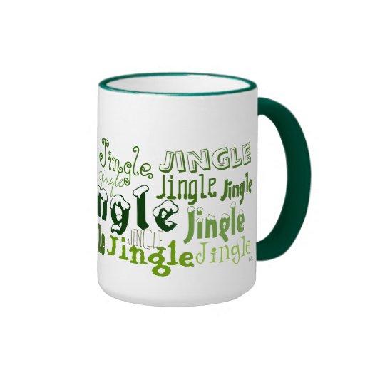 Jingle Jingle Holiday (green) Mug