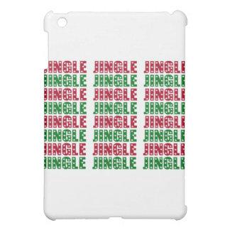 Jingle Jingle Jingle Merry Christmas Bells Stars iPad Mini Cases