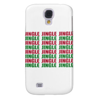 Jingle Jingle Jingle Merry Christmas Bells Stars Samsung Galaxy S4 Case