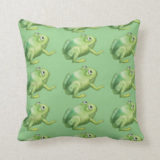 Jingle Jingle Little Gnome Albie the Frog Pillow